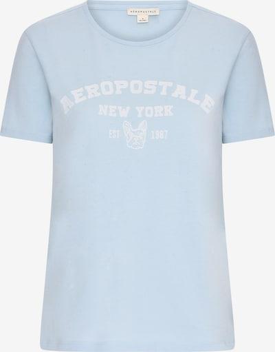 Maglietta 'Bulldog' AÈROPOSTALE di colore blu chiaro / bianco, Visualizzazione prodotti
