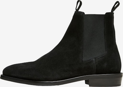SELECTED HOMME Chelsea Boots in schwarz, Produktansicht