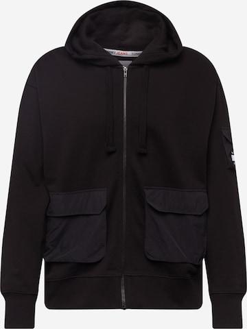 Tommy Jeans Суичъри с качулка в черно