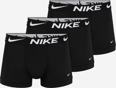NIKE Sous-vêtements de sport en noir / blanc, Vue avec produit