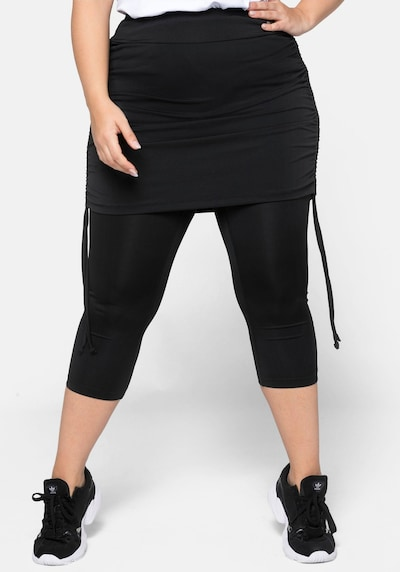 SHEEGO Tehničke hlače u crna, Prikaz modela