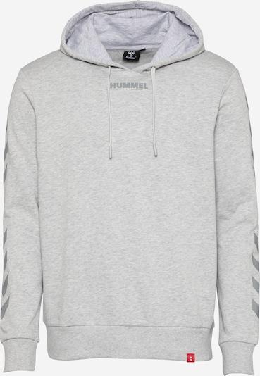 Hummel Спортен блузон с качулка в сив меланж, Преглед на продукта