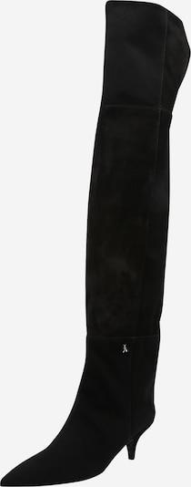 Cizme peste genunchi PATRIZIA PEPE pe negru, Vizualizare produs