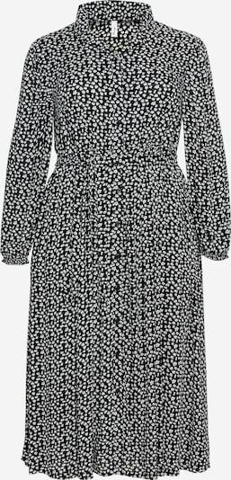SHEEGO Košulja haljina u crna / bijela, Pregled proizvoda