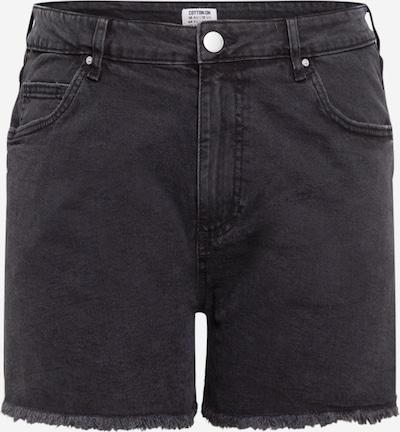 Cotton On Curve Shorts in black denim, Produktansicht