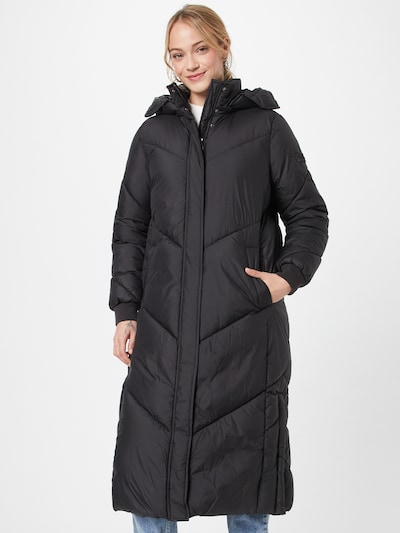 TOM TAILOR DENIM Mantel in schwarz, Modelansicht