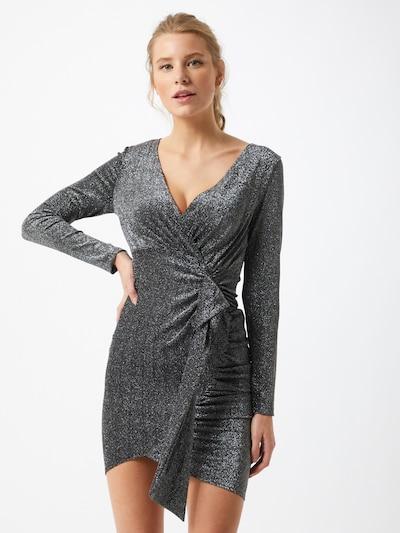 AX Paris Koktel haljina u srebro, Prikaz modela