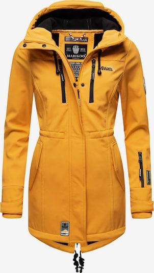 MARIKOO Mantel 'Zimtzicke' in gelb, Produktansicht