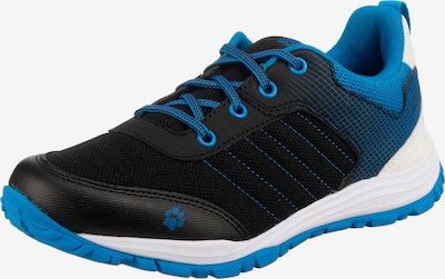 JACK WOLFSKIN Sneakers  'CASCADE LOW K' in blau / schwarz / weiß, Produktansicht