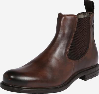 bugatti Chelsea Boots en brun foncé, Vue avec produit