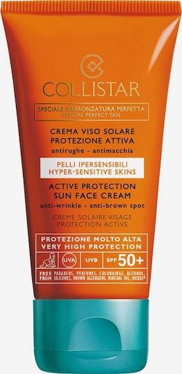 Collistar Gesichtscreme  'Active Protection Sun  SPF 50+' in türkis / orange / schwarz / weiß, Produktansicht