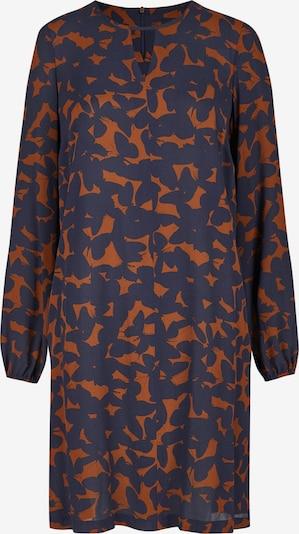 DANIEL HECHTER Kleid in navy / cognac, Produktansicht