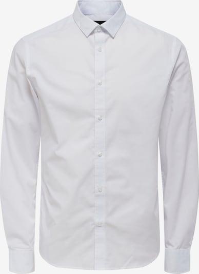 Only & Sons Hemd 'Sane' in weiß, Produktansicht