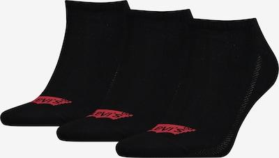 LEVI'S Chaussons en noir, Vue avec produit