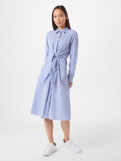 Lauren Ralph Lauren Kleid in blau / weiß, Modelansicht
