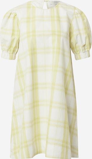 Rochie de vară Thinking MU pe galben deschis / alb, Vizualizare produs