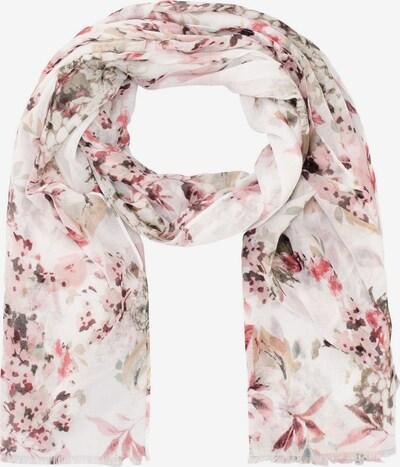 HALLHUBER Schal in rosa / altrosa / weiß, Produktansicht