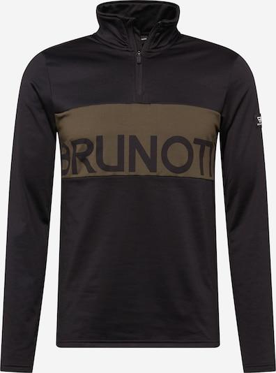 BRUNOTTI Športen pulover | rjava / črna barva, Prikaz izdelka