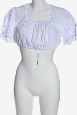STOCKERPOINT Cropped Shirt in XL in Weiß