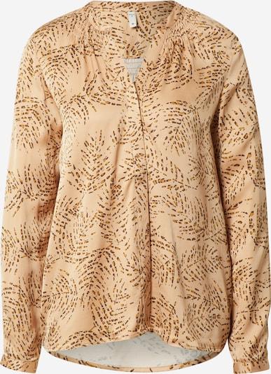 PULZ Jeans Blouse 'HELEN' in Brown / Cognac / Light brown, Item view