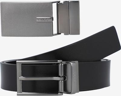 HUGO Gürtel 'Gemick' in schwarz / silber, Produktansicht