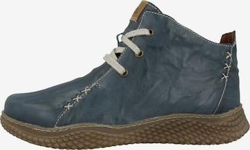 JOSEF SEIBEL Lace-Up Shoes 'Amelie' in Blue