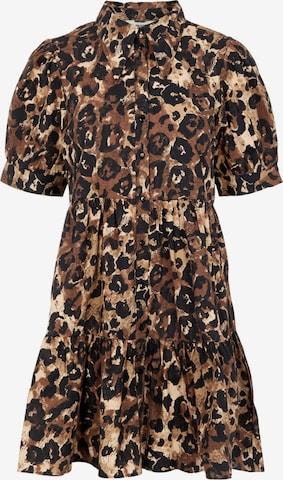 Robe-chemise 'Rosita' OBJECT en marron