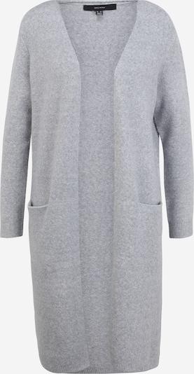 Vero Moda Petite Strickjacke 'DOFFY' in graumeliert, Produktansicht