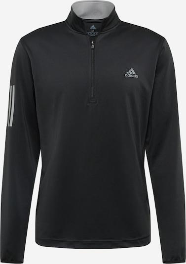 adidas Golf Sport-Sweatshirt in grau / schwarz, Produktansicht