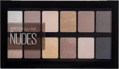 MAYBELLINE New York Eyeshadow 'The Nudes Palette' in Mixed colors, Item view