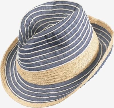 Chaplino Trilbyhut in beige / blau, Produktansicht