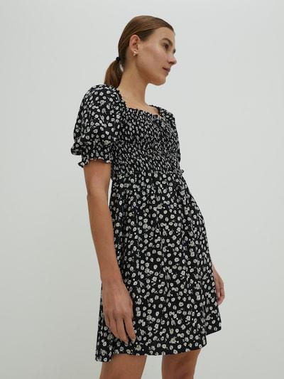 EDITED Kleid 'Charlee' in mischfarben / schwarz, Modelansicht