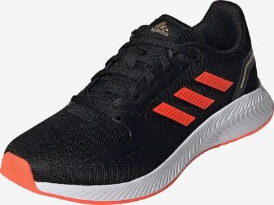 ADIDAS PERFORMANCE Sportschuh 'Runfalcon 2.0' in lachs / schwarz: Frontalansicht