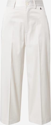 Pantaloni cu dungă Herrlicher pe crem, Vizualizare produs