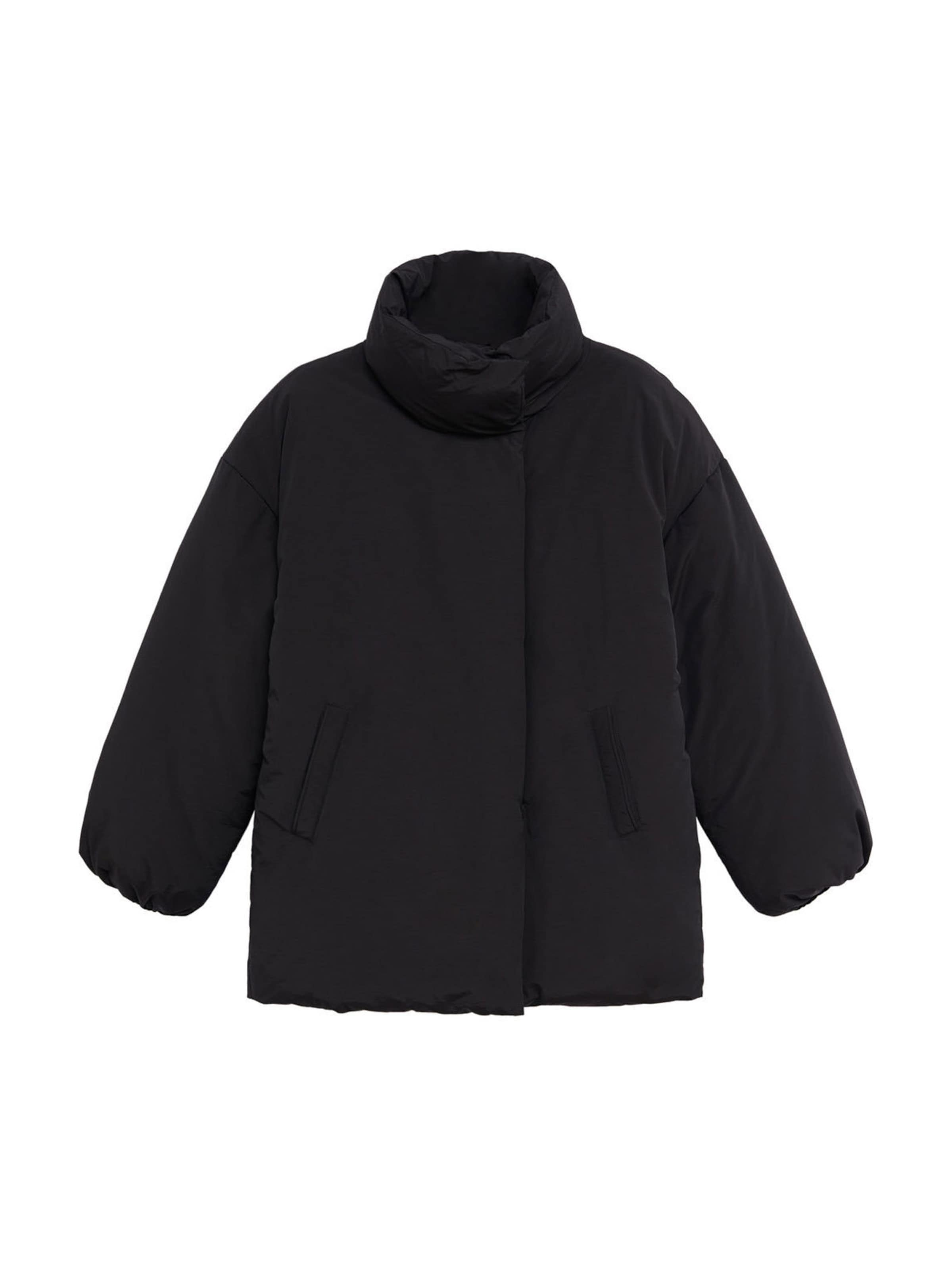MANGO Átmeneti dzseki fekete színben