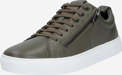 HUGO Sneaker 'Futurism_Tenn' in dunkelgrün, Produktansicht