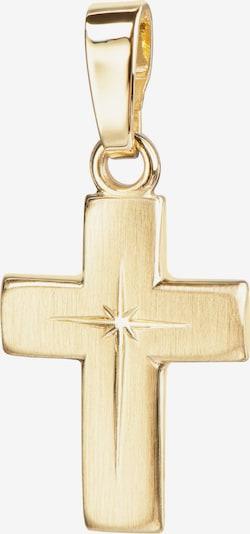 JEVELION Kreuzanhänger 333 Gold in gold, Produktansicht