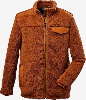 Jachetă  fleece funcțională de la KILLTEC pe maro