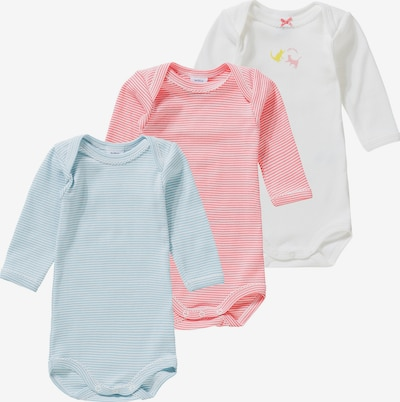 PETIT BATEAU Body in blau / rosa / weiß, Produktansicht
