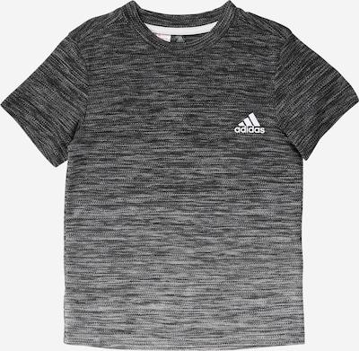 ADIDAS PERFORMANCE Sport-Shirt in anthrazit / hellgrau / dunkelgrau / weiß, Produktansicht