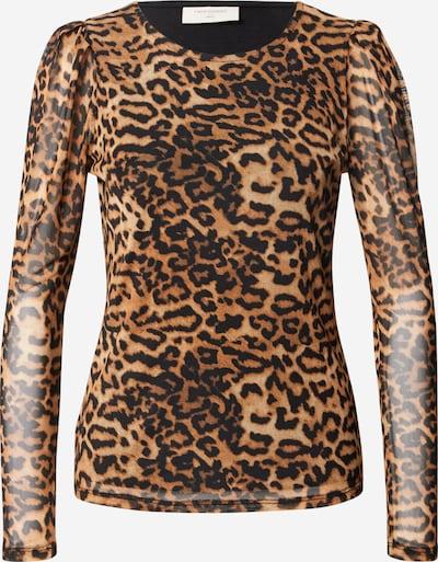 Freequent Bluse 'Sammi' in braun / schwarz, Produktansicht