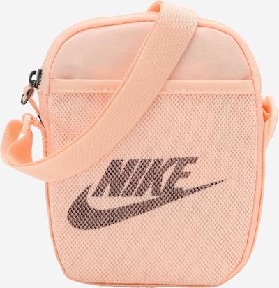 Nike Sportswear Umhängetasche 'Heritage' in pfirsich / schwarz, Produktansicht