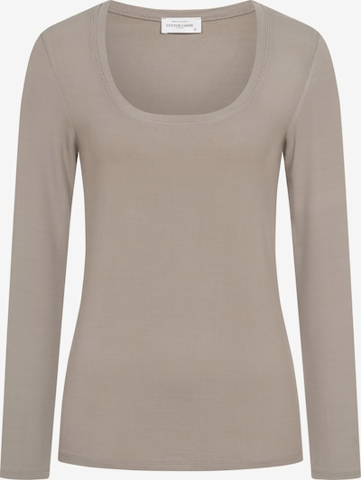 Cotton Candy Sweatshirt 'WINONA' in Taupe, Item view