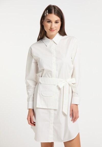 MYMO Blusenkleid in weiß, Modelansicht