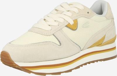CAMEL ACTIVE Låg sneaker i beige / senap / off-white, Produktvy