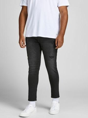 Jack & Jones Plus Jeans 'LIAM' in Schwarz