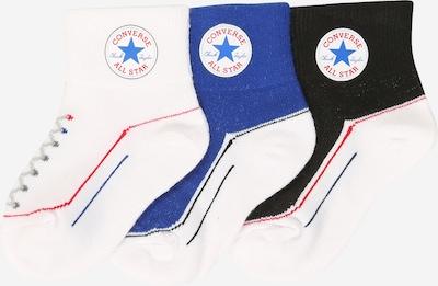 Kojinės iš CONVERSE , spalva - mėlyna / melionų spalva / juoda / balta, Prekių apžvalga