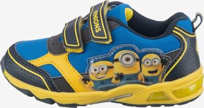 Minions Sneaker in blau / gelb, Produktansicht
