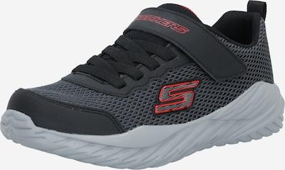 SKECHERS Sneaker in grau / rot / schwarz, Produktansicht