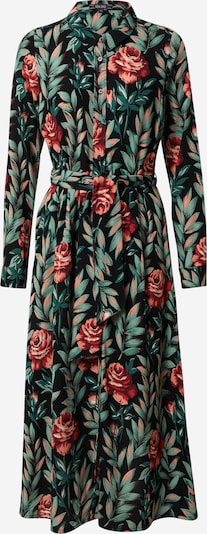 King Louie Shirt Dress 'Rosie' in Grass green / Red / Black, Item view